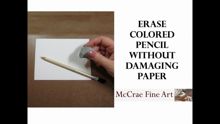 Remarkable Easiest Pencil To Erase Lessons How To Erase Colored Pencils Without Damaging The Paper Pictures