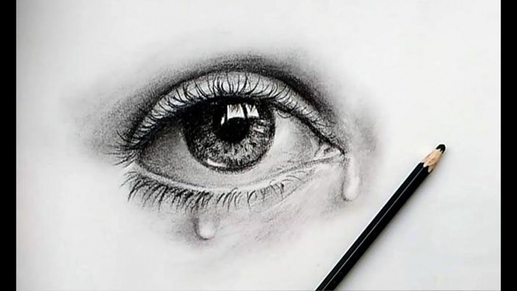 Remarkable Eye Pencil Sketch Techniques How To Draw A Beautiful Eye Very Easily/ Pencil Sketch Tutorial 01 Image