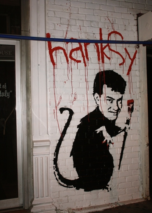 Remarkable Famous Stencil Artists Tutorials Best Of The Worst By #hanksy #streetart #urbanart #graffiti | Art Images