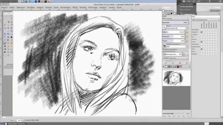 Remarkable Gimp Pencil Sketch for Beginners Brushes For Gimp - Pencil Set Pack Pics