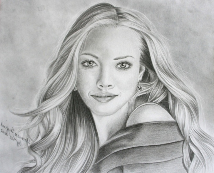 Great Pencil Sketches For Female