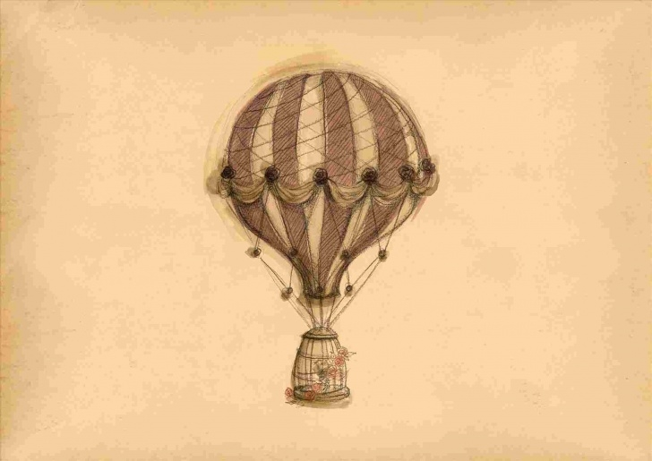 Remarkable Hot Air Balloon Pencil Drawing Techniques for Beginners At-Pencil-Drawing-Hot-Air-Balloon-Getscom-Free-For-Rhgetscom-S Pictures
