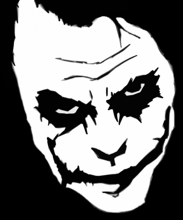 Remarkable Joker Stencil Art for Beginners Joker Stencil - Google Search | Ideas | Joker Stencil, Joker Art Picture
