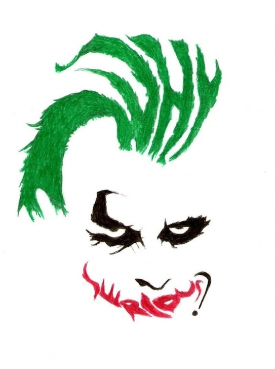 Remarkable Joker Stencil Art Simple Why So Serious Tattoo Famous Why So Serious Joker Face Tattoo Image