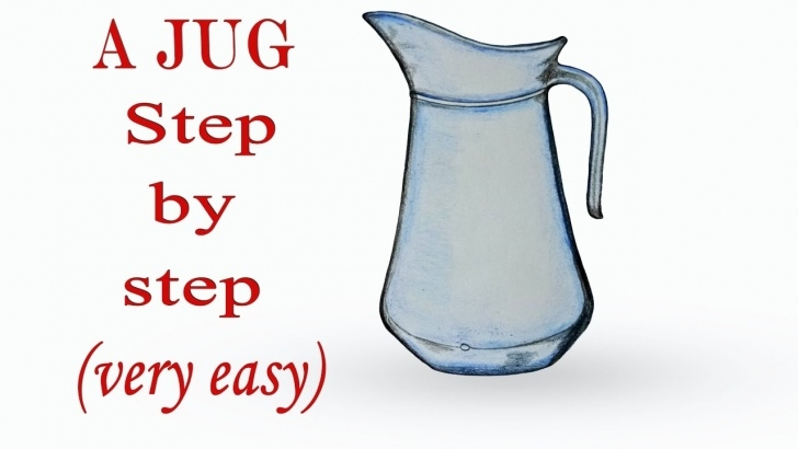 Remarkable Jug Pencil Drawing Ideas How To Draw A Jug Step By Step (Very Easy) Photos