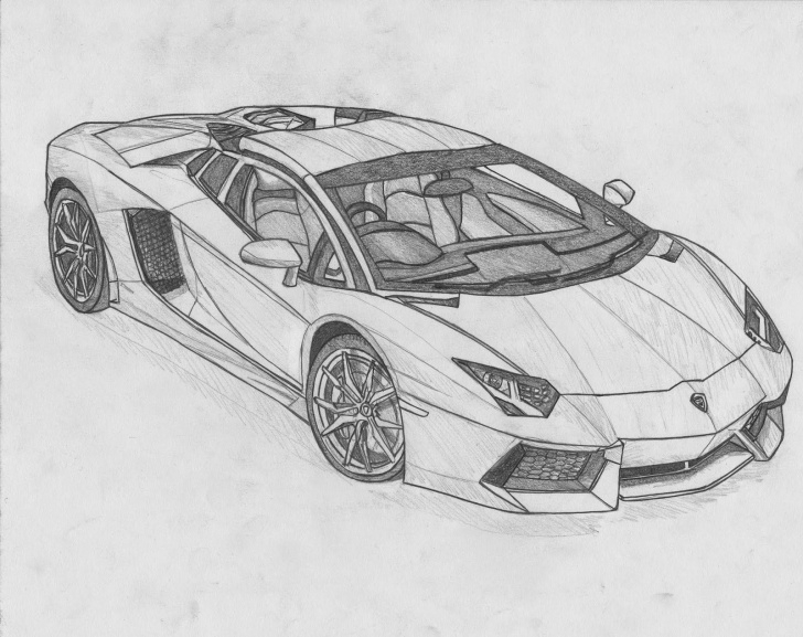 Remarkable Lamborghini Pencil Drawing Ideas Lamborghini Pencil Drawing At Paintingvalley | Explore Pictures