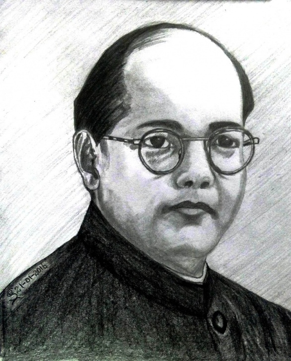 Remarkable Netaji Subhas Chandra Bose Pencil Sketch Lessons Drawing Picture Of Netaji Subhas Chandra Basu - Picture Of Pic