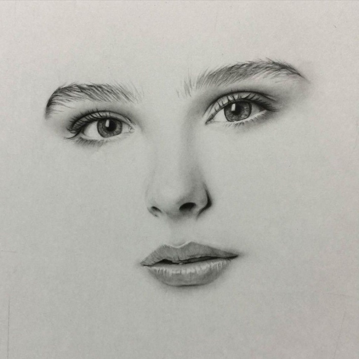 Remarkable Pencil Drawing Girl Face Tutorial Pin By Olivia Lisa On Artsy Ideas In 2019 | Face Pencil Drawing Pics