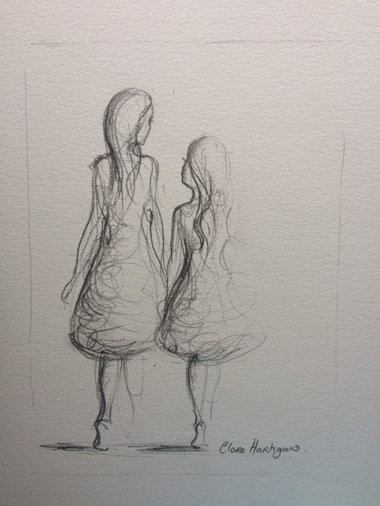 Remarkable Pencil Sketches Of Best Friends Lessons Pencil Sketch (Sold) Images