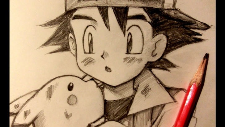 Pokemon Pencil Drawing