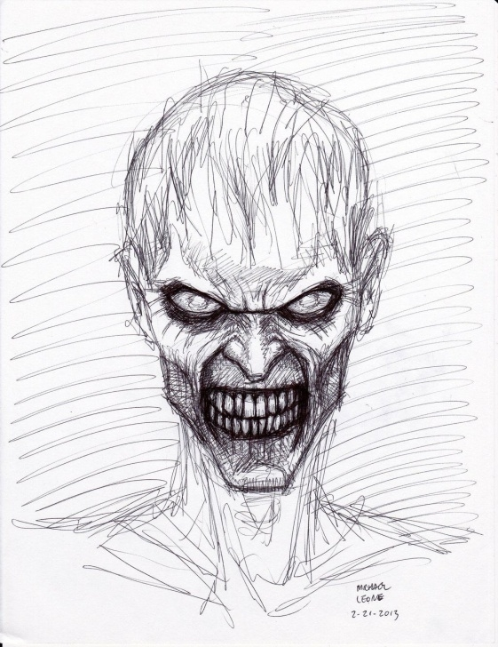 Remarkable Scary Pencil Drawings Lessons Zombie+Drawings+In+Pencil | Zombie Pen Sketch 2 21 2013 By Myconius Pictures
