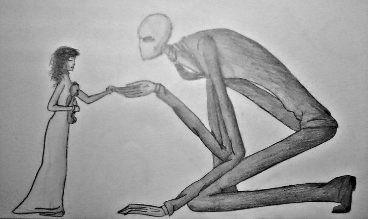 Remarkable Slender Man Drawings In Pencil Simple Slenderman Pencil Drawing | My Drawings | Pencil Drawings, Drawings Image
