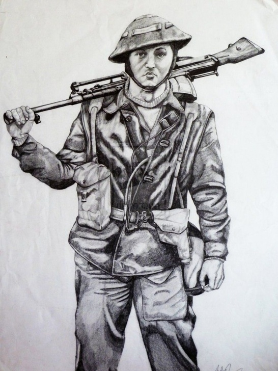 Remarkable Soldier Pencil Drawing Tutorials Image Result For Pencil Drawings Of Ww2 Soldiers | What Tom Likes To Pic