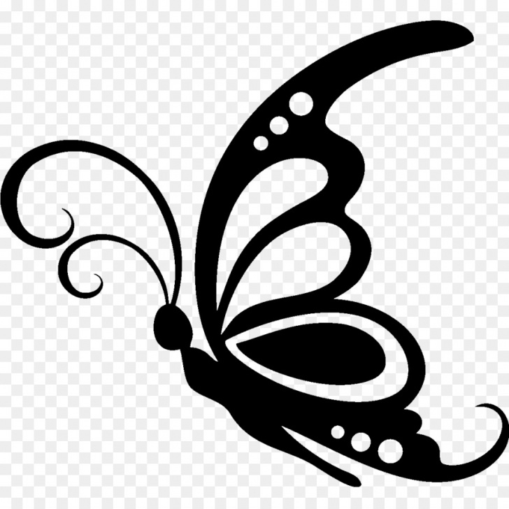 Remarkable Stencil Art Drawing for Beginners Black And White Flower Png Download - 1200*1200 - Free Transparent Photo