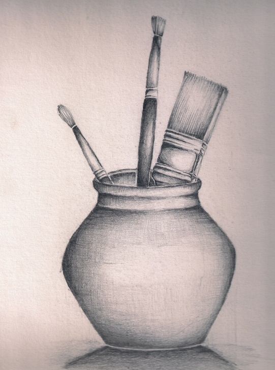 Remarkable Still Life Pencil Drawing Tutorial Easy Still Life Drawings In Pencil - Drawingsketch Photos