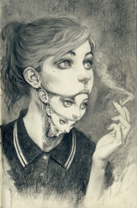Remarkable Surreal Pencil Drawings Easy Miles Johnston - Surrealism Today Picture