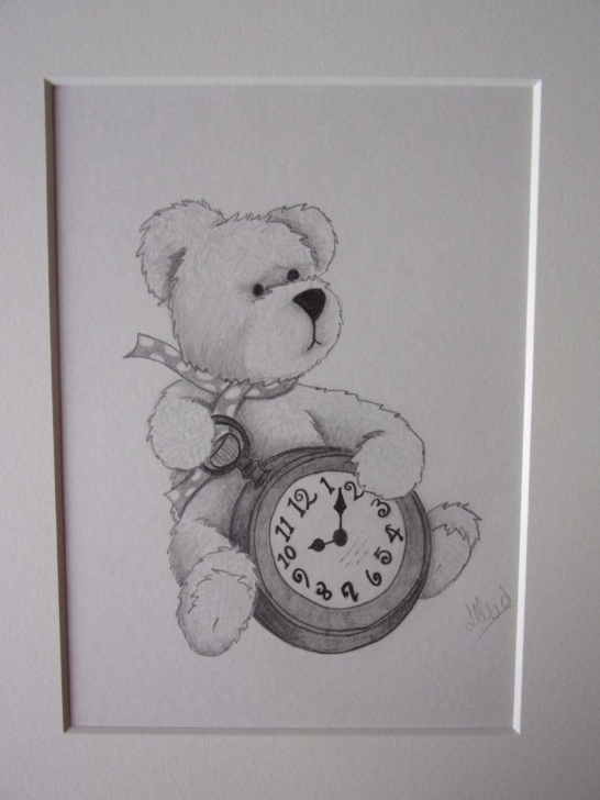 Remarkable Teddy Bear Drawings Pencil for Beginners Realistic Pencil Teddy Bear Drawing Photos