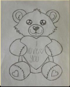 Remarkable Teddy Bear Pencil Sketch for Beginners Pencil Sketch Of Teddy Bear And Teddy Bear Pencil Drawing At Images