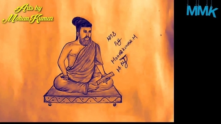 Remarkable Thiruvalluvar Pencil Drawing for Beginners Thiruvalluvar Pencil Drawing || Mmk Drawing Please Watch This Video Friends Image