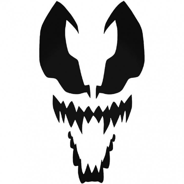 Remarkable Venom Stencil Art Ideas Spiderman Venom 037 Decal Sticker Ballzbeatz . Com | Ski Mask Ideas Picture