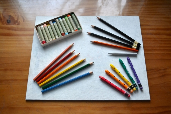Remarkable Watercolor Pencils On Canvas Free How To Draw On Canvas | Arts, Crafts & Printables | Color Pencil Art Photos