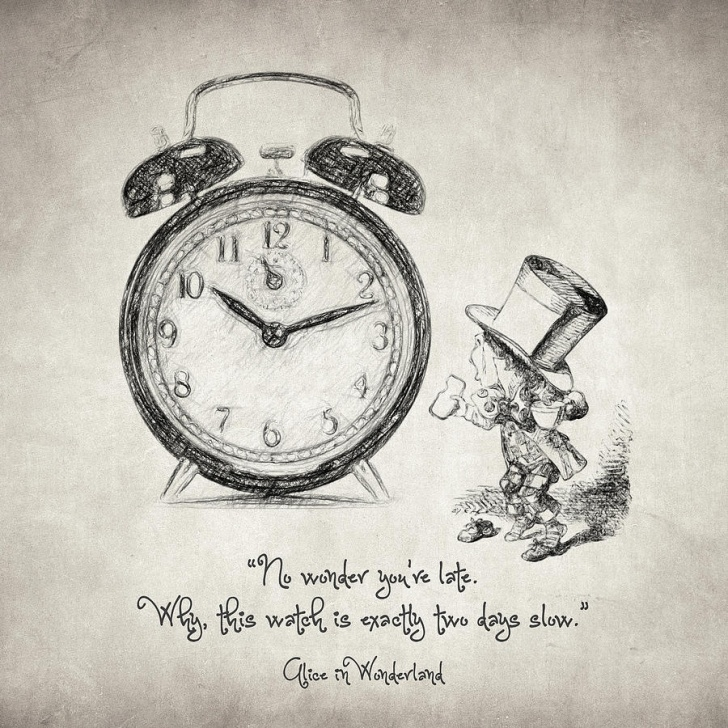Stunning Alice In Wonderland Pencil Drawings Tutorials Alice In Wonderland Quote By Zapista Zapista Image