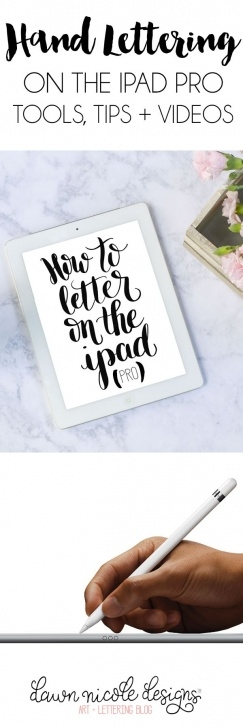 Stunning Apple Pencil Calligraphy Techniques for Beginners Hand Lettering With The Ipad Pro + Apple Pencil | ✏ Designer Photos