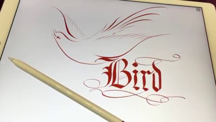 Stunning Apple Pencil Calligraphy Tutorial 英文書法 Calligraphy On Ipad Pro By Apple Pencil Images