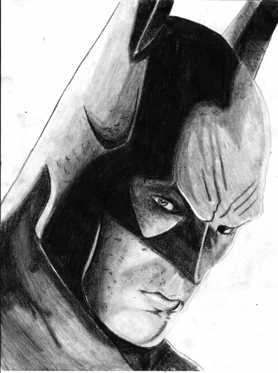 Stunning Batman Pencil Art Courses Batman Drawings In Pencil | Batman By ~ Oliver1634 | Drawings For Photo