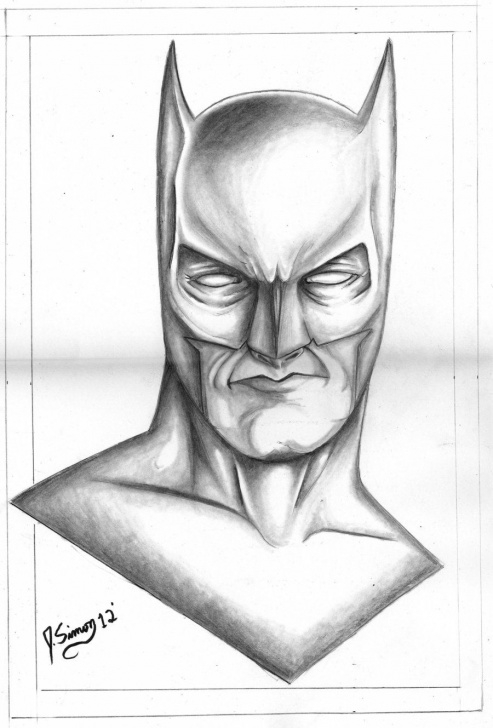 Stunning Batman Pencil Sketch Tutorials Batman Drawings In Pencil | Batman Pencil Drawing By Jsimonart Pics