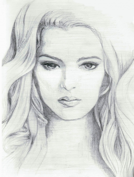 Stunning Beautiful Face Sketch Techniques for Beginners Doodles & Sketches | Emeraldsantos | Projects To Try | Pencil Images