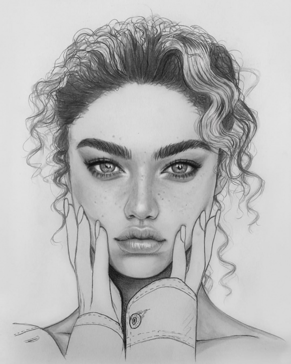 Stunning Beautiful Portrait Sketches Ideas Intense & Beautiful Portrait Drawing | Draw Realisme In 2019 Pictures