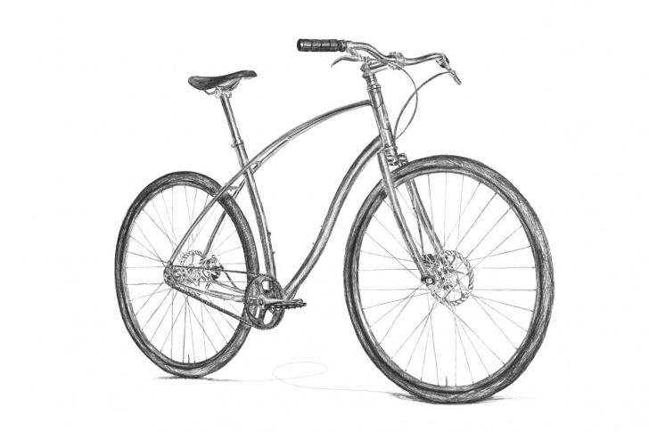 Stunning Bicycle Pencil Drawing Techniques for Beginners Pencil Drawings Of Bicycles And Bicycle Pencil Drawing At Pictures