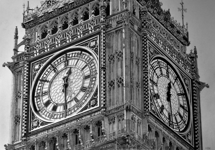 Stunning Big Ben Pencil Drawing Free Big Ben. Keith More Hyperrealistic Pencil Drawing A3 Size. | Pencil Picture