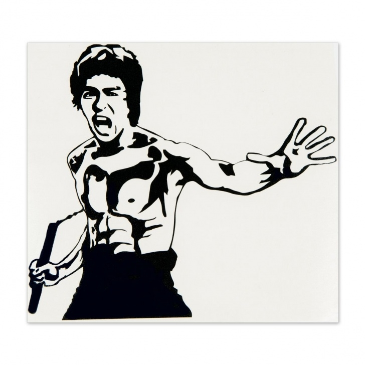 Stunning Bruce Lee Stencil Easy Pin By Steven White On Bruce Lee | Bruce Lee Art, Bruce Lee, Bruce Picture