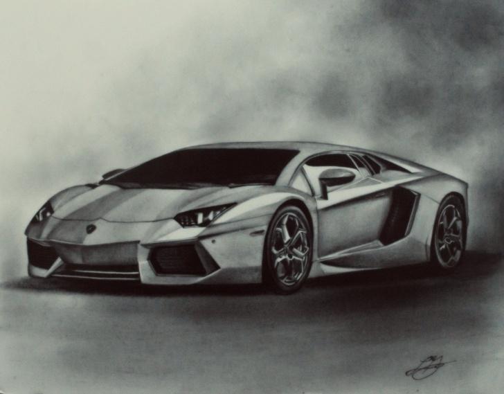 Stunning Car Pencil Drawing Free Car Drawing | Drawings | Car Drawings, Pencil Drawings, Car Drawing Pictures