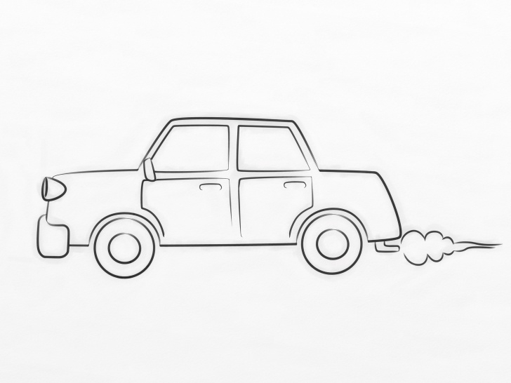 Stunning Car Pencil Sketch Drawing Step by Step How To Draw A Cartoon Car: 8 Steps (With Pictures) - Wikihow Photos