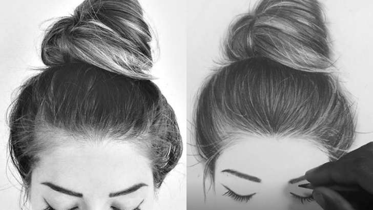 Stunning Charcoal Pencil Drawing Easy Step by Step How I Draw Hair With Charcoal Pencils | Charcoal Portrait In 2019 Photos