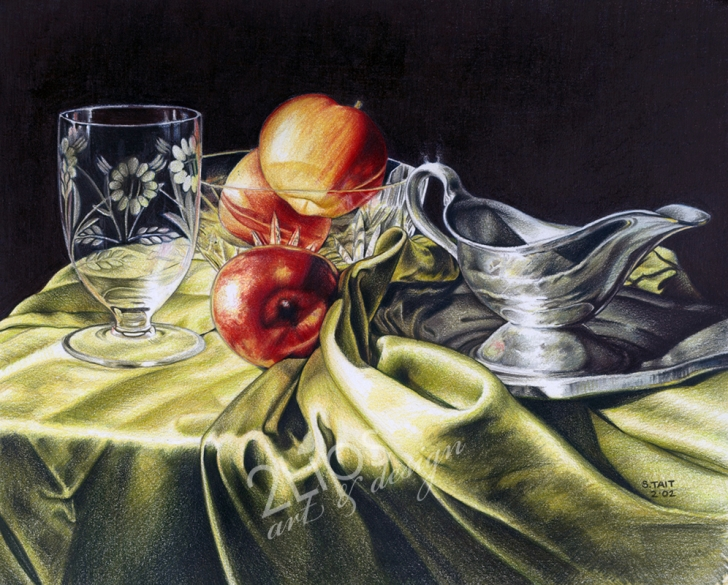 Stunning Colored Pencil Still Life Easy American Artist Colored Pencil Article Changed My Life - Susan Pic