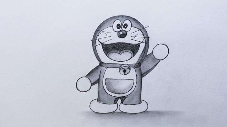 Doraemon Pencil Sketch