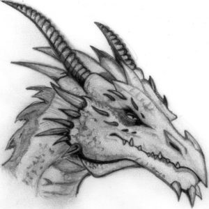 Stunning Dragon Pencil Sketch Free Pencil Dragon Sketch At Paintingvalley | Explore Collection Of Pic