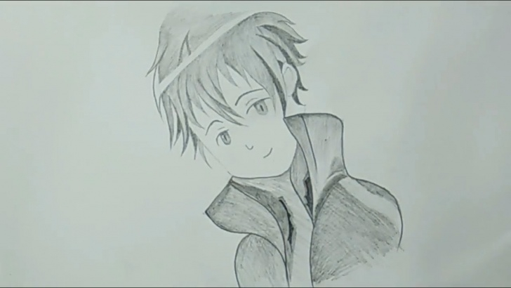 Stunning Easy Anime Drawings In Pencil For Beginners Step by Step Cool Pencil Drawing - How To Draw Anime For Beginners #easy Photo