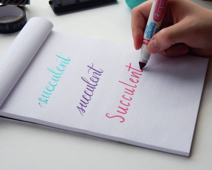 Stunning Easy Calligraphy With Pencil Techniques for Beginners Faux Calligraphy - Learn How To Create Gorgeous Lettering The Easy Image