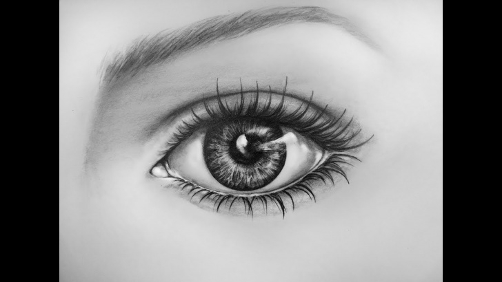 Stunning Eye Pencil Sketch Techniques How To Draw An Eye, Time Lapse | Learn To Draw A Realistic Eye With Pencil Picture