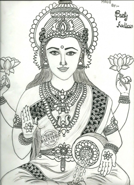 Stunning Goddess Lakshmi Pencil Sketches for Beginners Pin By Jyothi Reddy On Faces | Pencil Sketch Drawing, Sketches Pictures