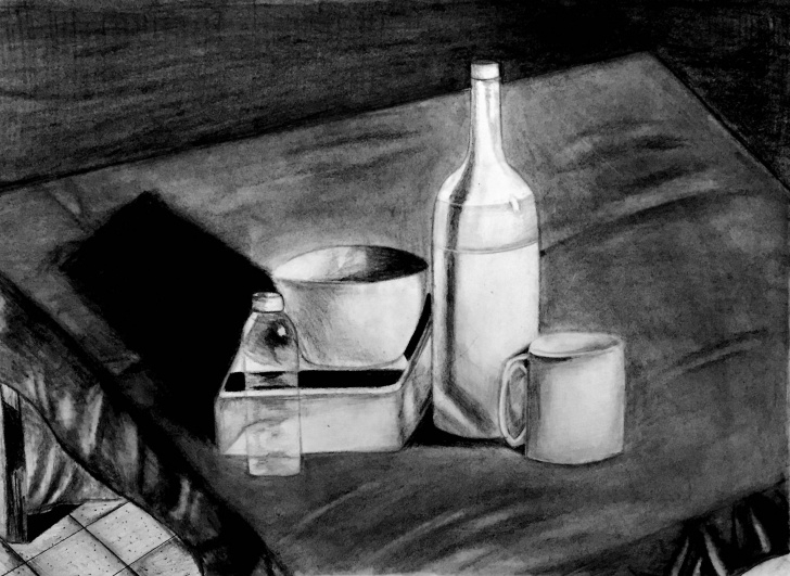 Stunning Graphite Still Life Ideas Graphite Still Life Drawing Print Photos
