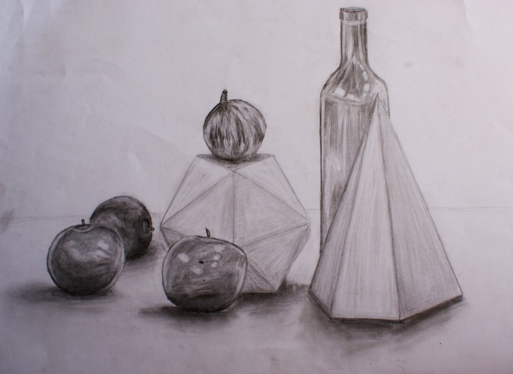 Stunning Graphite Still Life Lessons Graphite Still Life | Tpetty14's Blog Pic