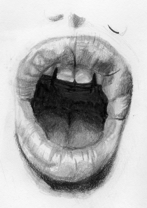 Stunning Human Body Parts Pencil Drawing Techniques for Beginners Image Result For Pencil Drawings Mouths Open | Drawings | Mouth Pics