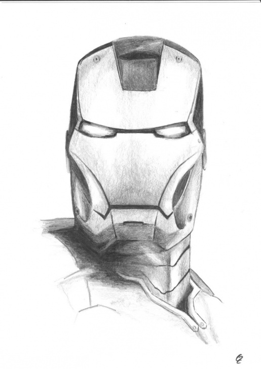 Stunning Iron Man Pencil Art Tutorial Drawing In Iron Man Pencil Group (+), Hd Drawing Images