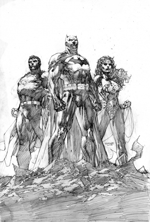 Stunning Jim Lee Pencil Art Techniques for Beginners Jim Lee's Icons Cover — Pencils And Inks | Dc Picture